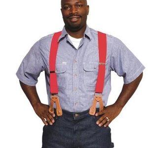 Carhartt Men's Dungaree Suspender Navy One Size